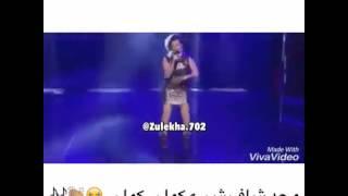 فضيحة الفنانة الاجنبية تسقط ملابسها في المسرح 2017 شاهد قبل الحذف