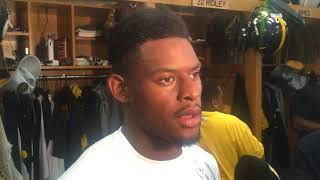 JuJu Smith-Schuster talks playing without Le'Veon Bell