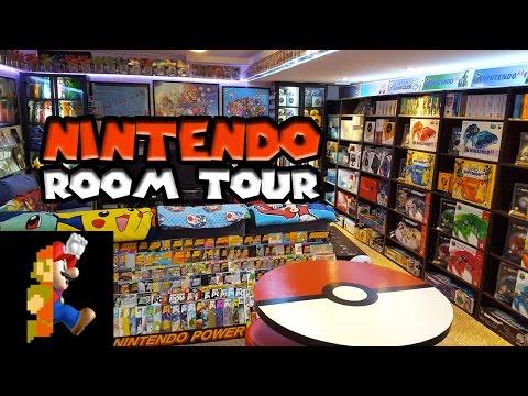 Nintendo Room Tour 2017 Nintendo Collecting