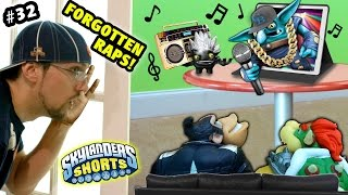 Skylanders Shorts: Episode 32 - FORGOTTEN RAPS!! Sky Dad Gets Called Out (Movie Night gets Musical)