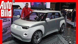 Fiat Centoventi Concept (Genf 2019) - Erster Eindruck / Details / Review