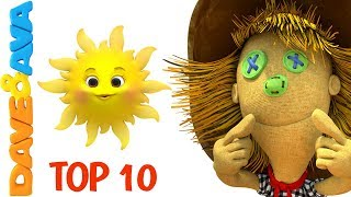 👍 Nursery Rhymes Collection: Top 10 Action Kids Songs from Dave and Ava 👍