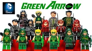 Complete LEGO Green Arrow DC Comics™ Super Heroes 2016 Minifigure Collection