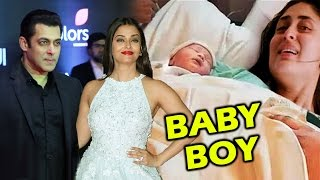 Kareena Delivers BABY BOY, Salman Khan & Aishwarya Rai At Stardust Awards 2016