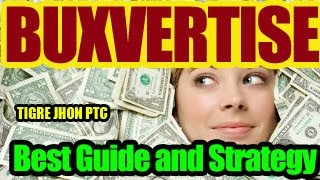 Buxvertise 2018 Tutorial, Strategy | Buxvertise is Scam? | Buxvertise - Tricks How to earn money?