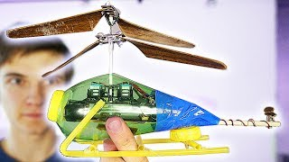 HOW TO MAKE A HELICOPTER ?! WILL IT FLY ?