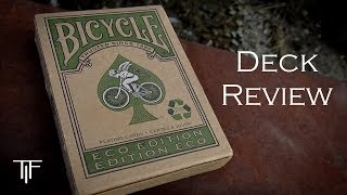 Bicycle Eco Edition Playing Cards - Deck Review