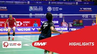 VICTOR CHINA OPEN 2018 | Badminton MS - QF - Highlights | BWF 2018