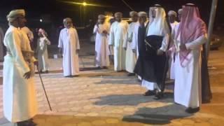 حضور الشيخ مسفر بن عوضه الشمراني عرس حمد الحجري