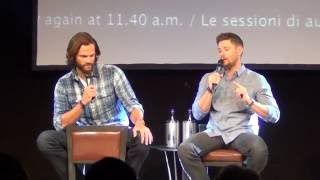 Jared and Jensen Saturday Panel (Part 1/3) Jibcon 2016