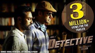 Detective - Official Trailer (Telugu) | Vishal, Prasanna, Andrea, Anu Emmanuel | Mysskin