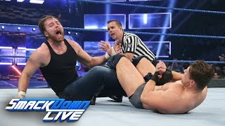 Dean Ambrose vs. The Miz - Intercontinental Title Match: SmackDown LIVE, Dec. 6, 2016