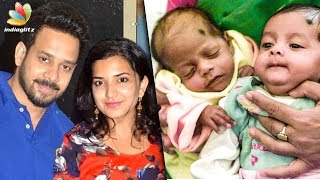 Actor+Bharath+%26+his+wife+Blessed+with+Twins+%7C+Hot+Tamil+Cinema+News