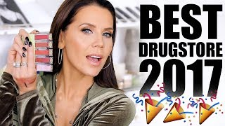 BEST DRUGSTORE MAKEUP of 2017