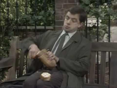 Mr Bean's Sandwich