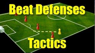 Football Tactics Using the Channels | AllTactics