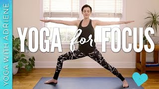 Yoga For Focus & Productivity - 10 min practice