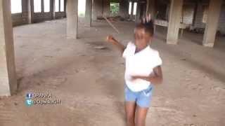 *4yrs Girl* Dance Alkayida / Azonto #UnderDance 1 (OPANKA ft Red Eye - UNDER)