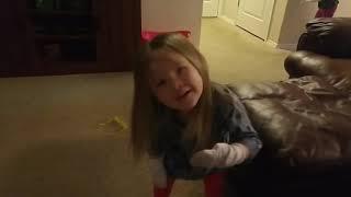 Madison Hates Band-Aids!!!