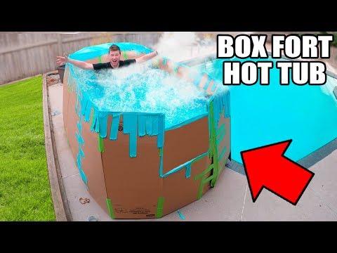 Xxx Mp4 BOX FORT HOT TUB CHALLENGE 📦💧 3gp Sex