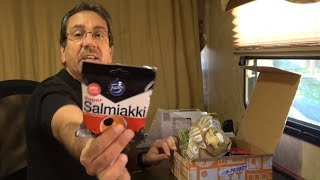Tasting Salmiakki and other Finnish Snacks