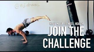 AJ Draven -  Krav Maga Fitness And Health Challenges