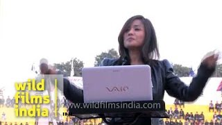 Europe's 'Final countdown' cover by Roselyn Hmar in Delhi