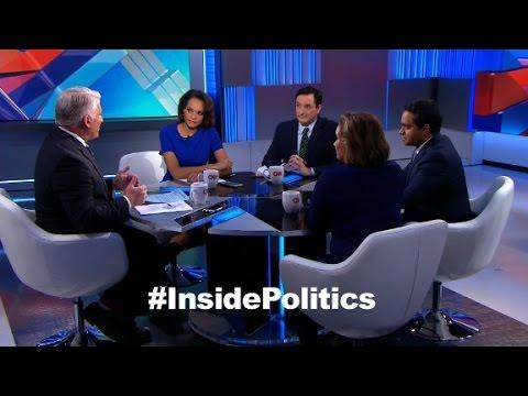 Inside Politics forecast Test for Trump