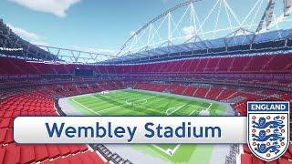 Minecraft - MEGABUILD - Wembley (England national stadium) + DOWNLOAD [Official]