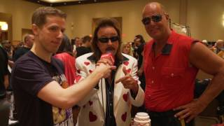 WrestleCon 2017 - Solomonster Interviews Jimmy Hart and The Mountie!