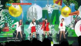 SNSD x Mamamoo - All I Want For Christmas Is You