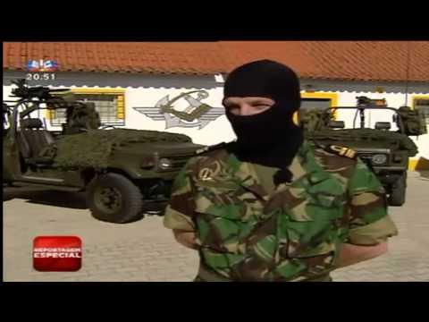 Reportagem sobre o DAE Portuguese Navy Special Operations