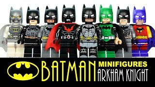 Batman Arkham Knight + Mini-Builds LEGO KnockOff Minifigures Set Review