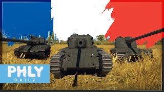 NEW French Tanks | ARL-44, AMX-50 Surbaisse & MORE (War Thunder 1.75 Tanks)