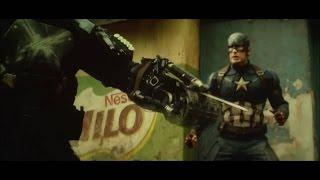Captain america civil war Cap vs crossbones (720p quality)