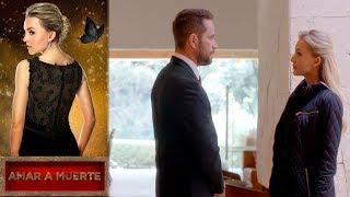 León se reencuentra con Lucía | Amar a muerte - Televisa