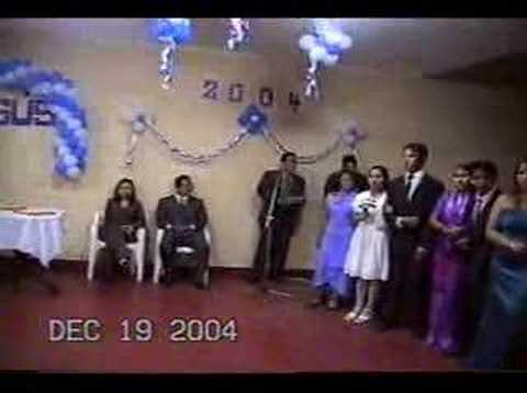 promocion JESUS 2004 Fiesta de Promocion 1 Parte