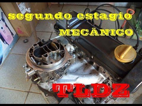 segundo estagio mecanico carburador weber TLDZ