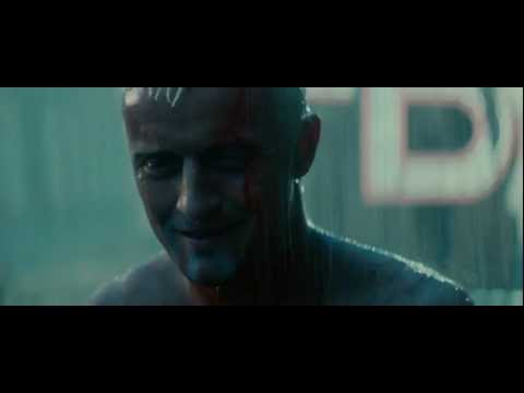 Blade Runner Final scene Tears in Rain Monologue HD