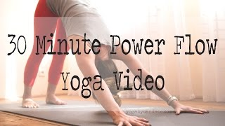 30 minute power yoga flow