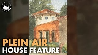 Awkwardly Painting Someone's House - Plein Air Adventure 67