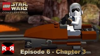 LEGO Star Wars: The Complete Saga - Episode 6 Chapter 3 - iOS / Android Walkthrough