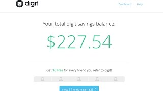 #Vlogtober How I Saved $200 In 30 Days With The Digit App! My Review Of Automatic Savings