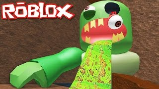 Roblox Adventures / Escape the Subway Obby / Escaping the Giant Evil Zombie!