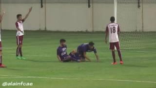 26-04-2017 العين 7 والحمرية 0 -دوري الـ19 سنة للشباب-