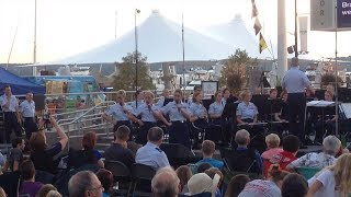 US Airforce Concert Band and Singing Sergeants Perform WWII Era Songs