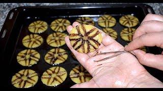 حلوى بدون طابع رخيصة بأقل من 20 درهم سهلة من أهش ما يكون / حلويات العيد