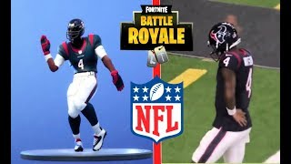 FORTNITE DANCES IN REAL LIFE! [NFL EDITION]    HD