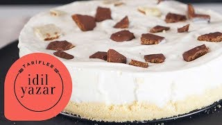Muzlu Magnolia Tadında Dondurma Pastası - İdil Yazar - Yemek Tarifleri