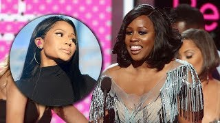 Remy Ma SLAMS Nicki Minaj In Speech After Beating Her At 2017 BET Awards